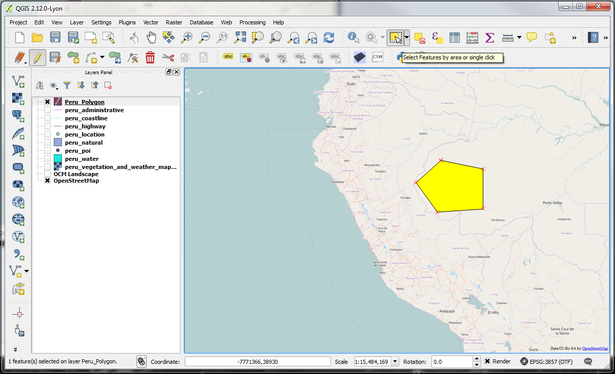 QGIS – Practical 1 – Page 6 – GIS Lessons for You
