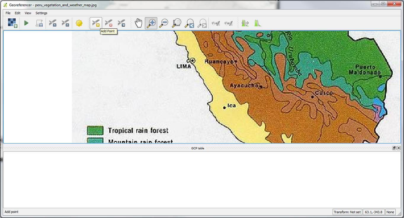 QGIS – Practical 1 – Page 9 – GIS Lessons for You