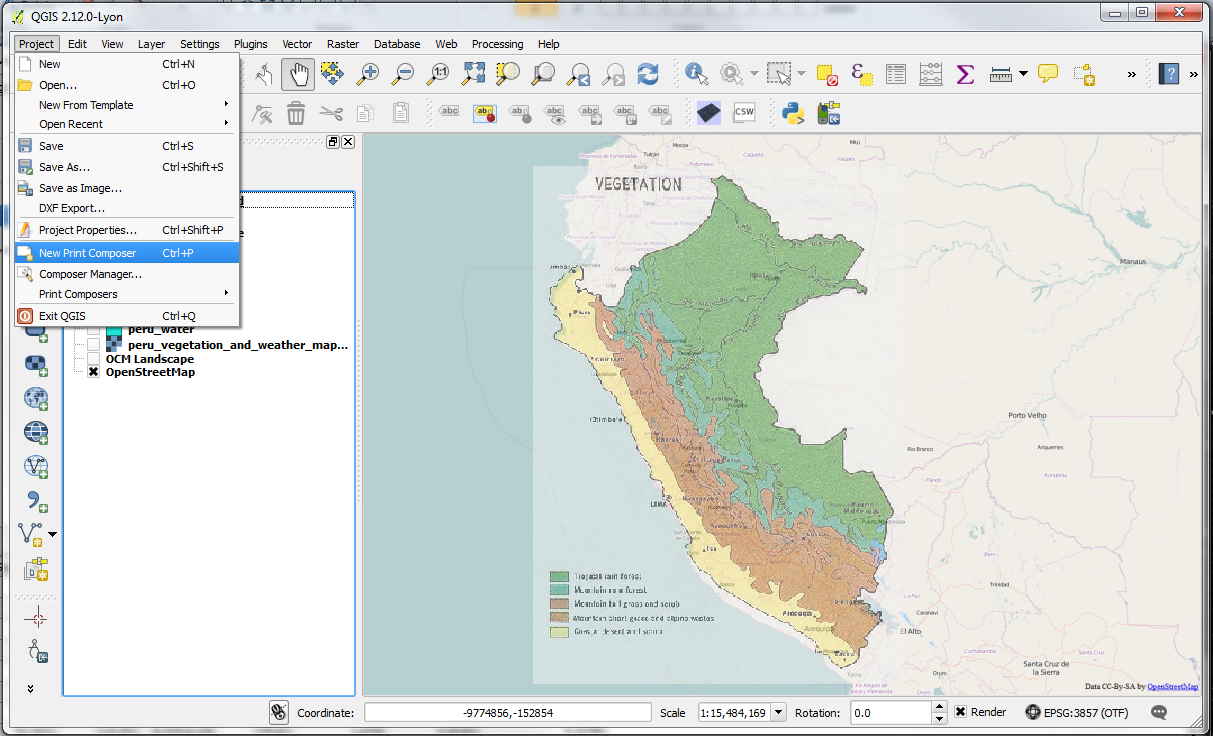 QGIS – Practical 1 – Page 10 – GIS Lessons for You