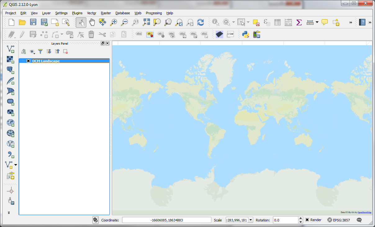 QGIS – Practical 1 – Page 3 – GIS Lessons for You