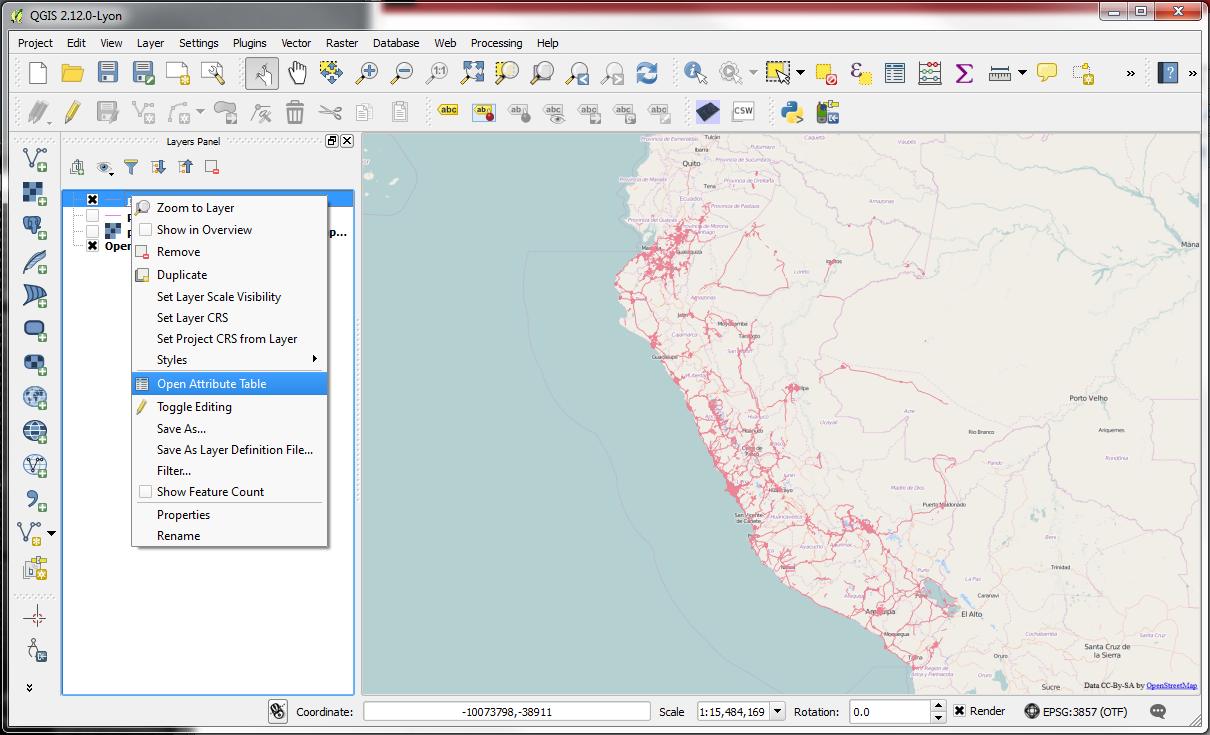 QGIS – Practical 2 – Page 2 – GIS Lessons for You